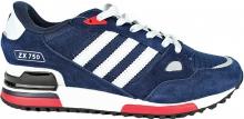 Кроссовки Adidas ZX750 замшевые Blue
