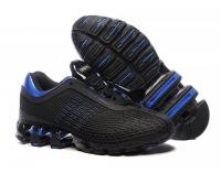 Кроссовки Adidas Porsche Desing Run Bounce черные Black Blue