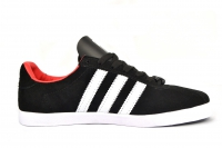 Кроссовки Adidas Gazelle Black White Red