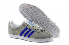 Кроссовки Adidas Gazelle Grey Blue