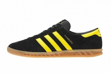 Кроссовки Adidas Hamburg Black Yellow