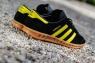 Кроссовки Adidas Hamburg Black Yellow