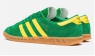 Кроссовки Adidas Hamburg Green Yellow