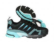Кроссовки Adidas Marathon Flyknit Black Blue