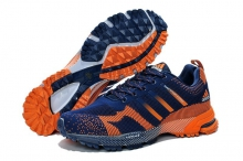 Кроссовки Adidas Marathon Flyknit Blue Orange