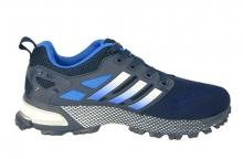 Кроссовки Adidas Marathon Flyknit Dark Blue темно-синие