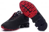 Кроссовки Adidas Porsche Desing Run Bounce черные Black Red