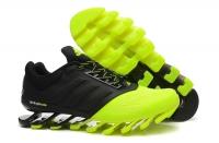 Кроссовки Adidas SpingBlade Black Light Green