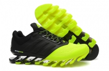 Кроссовки Adidas SpingBlade Black Light Green