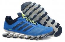Кроссовки Adidas SpingBlade Blue Black Green