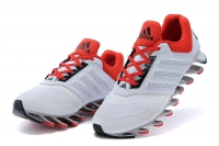 Кроссовки Adidas SpingBlade White белые Red