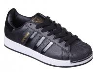 Кроссовки Adidas Superstar Black черные White