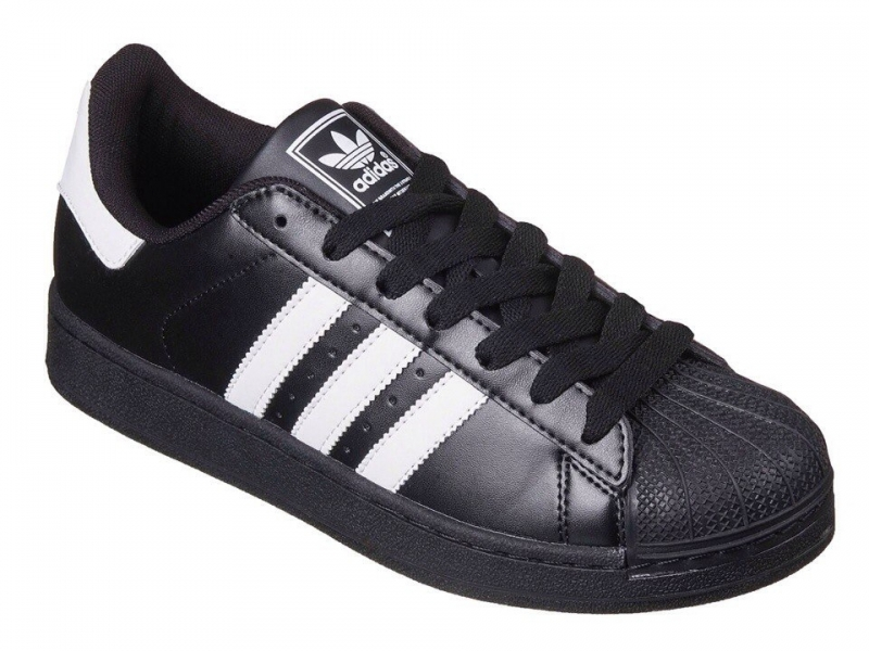 Кроссовки Adidas Superstar Black White 268fb6835fd10
