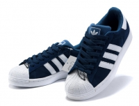 Кроссовки Adidas Superstar Blue White