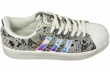 Кроссовки Adidas Superstar Grey Silver