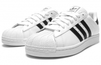 Кроссовки Adidas Superstar White Black