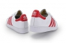 Кроссовки Adidas Superstar White Red