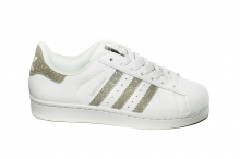 Кроссовки Adidas Superstar White Silver V