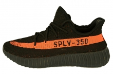 Кроссовки Adidas Yeezy Boost 350 Black Orange